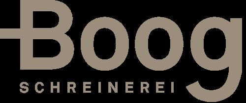 Boog Schreinerei Logo